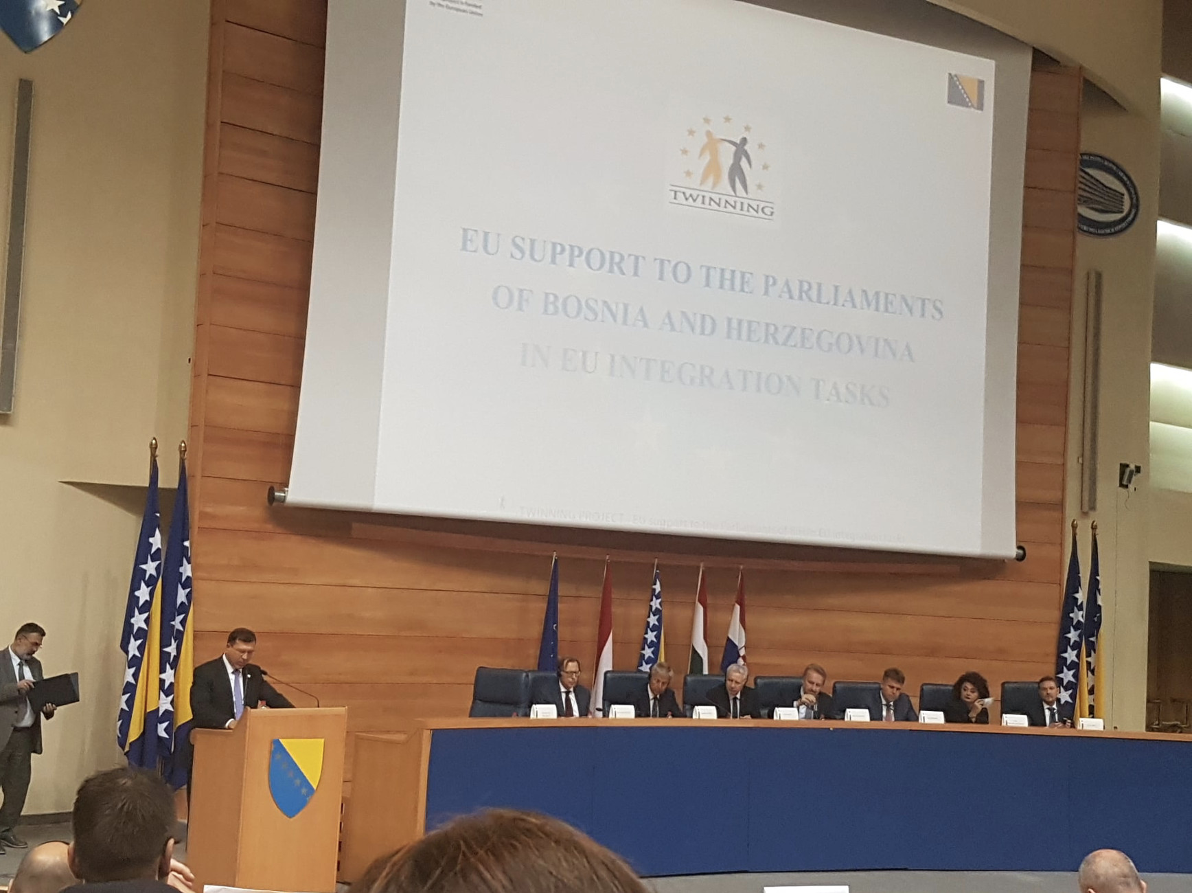 Opening of the Twinning Project - EU support to the Parliaments of Bosnia and Herzegovina in EU integration tasks